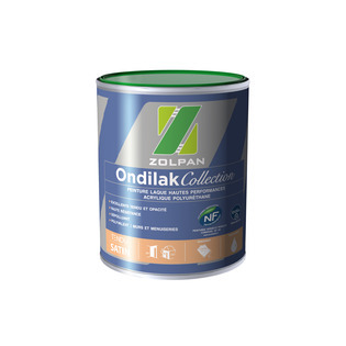 Peinture laque satinée haute performance : Ondilak Collection Satin - ZOLPAN