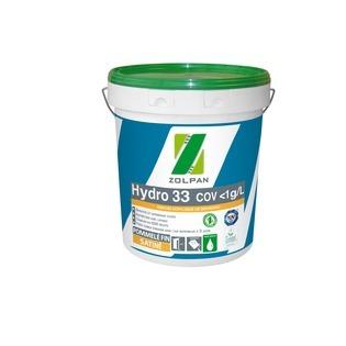 Peinture satinée Ecolabel finition soignée : Hydro 33 - ZOLPAN