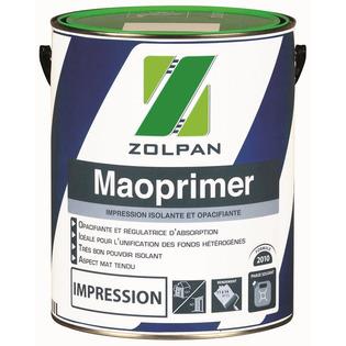 Impression isolante et opacifiante : Maoprimer - Zolpan