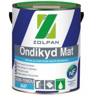 Peinture polyvalente mate en émulsion pour travaux soignés: Ondikyd Mat - Zolpan