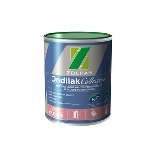 Peinture laque velours hautes performances: Ondilak Collection Velours - ZOLPAN