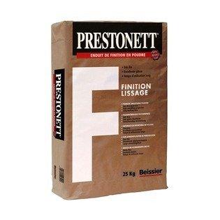Enduit PRESTONETT F : FINITION LISSAGE