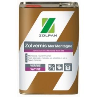 Vernis satiné pour environnements difficiles : Zolvernis Mer Montagne - Zolpan