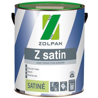 Peinture laque satinée : Z satin - ZOLPAN