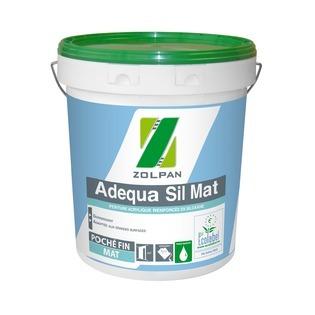 Peinture opacifiante mat profond : Adequa Sil Mat - ZOLPAN
