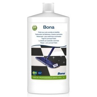 Bona polish pour sols carrelés et stratifiés