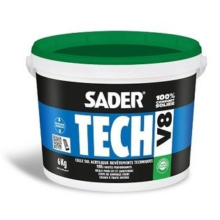 Colle hautes performances Sadertech V8 - Sader