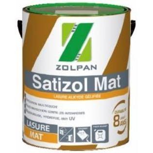 Lasure multicouche mate Satizol Mat - Zolpan