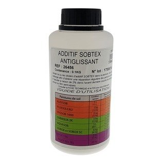 Additif SOBTEX antiglissant